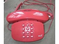 BT landline phone - BT Duet 200 plus, PINK