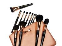 New luxurious Violet Voss Rose Gold Brush 12pc Set