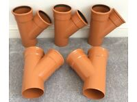 Underground Drainage - 110mm Brown Sewer / 160mm Brown Sewer / 110mm Black Soil / 110mm Grey Soil