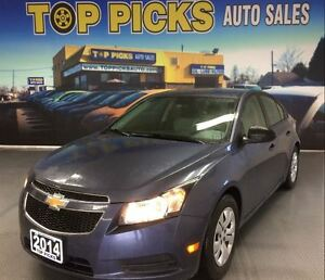 2014 Chevrolet Cruze LS, 5 SPEED MANUAL, POWER GROUP!
