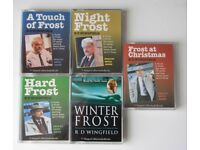 Inspector Frost audio books x 5.