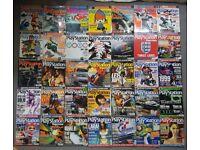 Official UK Playstation Magazine PSM bundle with demo discs. Retro job lot