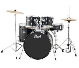 Pearl Roadshow 5 Piece Rock-Fusion Drum Kit