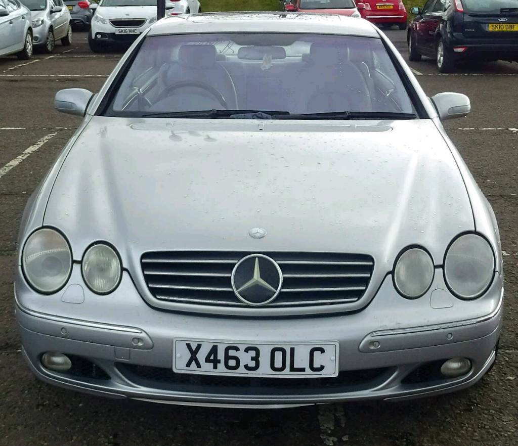 X 2000 Mercedes Cl 500 5 0 V8 Petrol Engine 131000 Very Huge