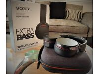 New Boxed Sony Premium Xtra Bass MDR-XB950BT Wireless Bluetooth/NFC Headphones