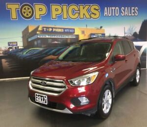 2017 Ford Escape SE, ALLOY WHEELS, BACK UP CAMERA, SYNC, 4X4!