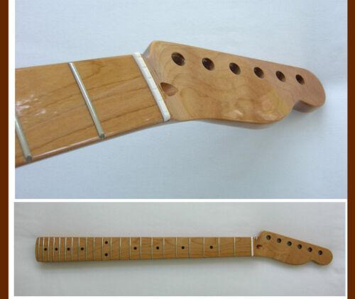 SALE* Roasted Telecaster Guitar Neck - TELE - 22 Jumbo w/Warmoth Bone Nut-Medium