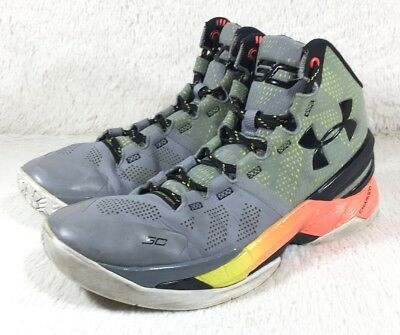 d5e4f19ee337 Under Armour Curry 2 SC30 Shoes Mens Athletic Basketball 1259007-035 Size  7.5