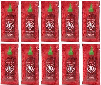 10x Sriracha Chilisauce a 8ml super scharfe chillisoße hot spicy FLYING GOOSE