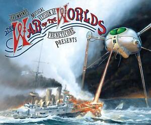 JEFF WAYNE THE WAR OF THE WORLDS (NEW 2 CD SET) RICHARD BURTON / JUSTIN HAYWARD