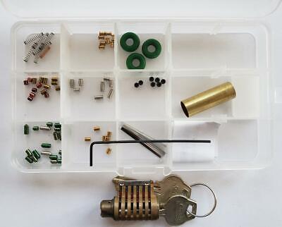 Corbin 6 Pin Cutaway Lock Kit You Build A Lock Practice Lock Kit
