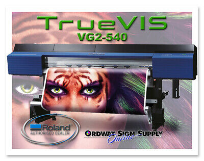 New Roland Truevis Vg2-540 54 Printer Cutter Plus 2 Year Warranty