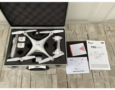 Potensic T25 GPS Drone + Camera 1080P HD Live Video, 2 Batteries + Carrying Case