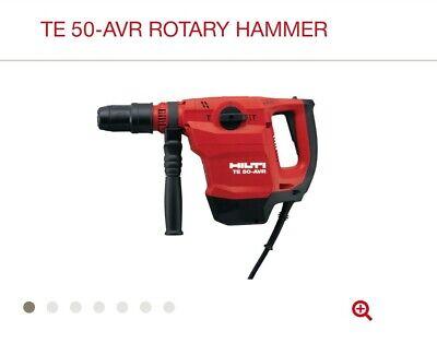 Hilti Te 50-avr Rotary Hammer Reno-combihammer Te 50-avr 120 V 3730687