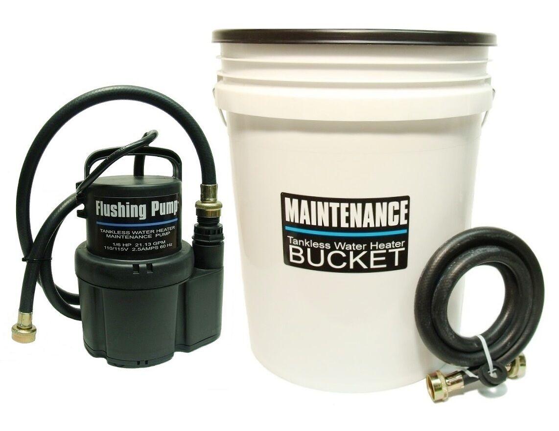 Tankless Water Heater Flushing,Descaling Kit Rheem,Bosch,Nor