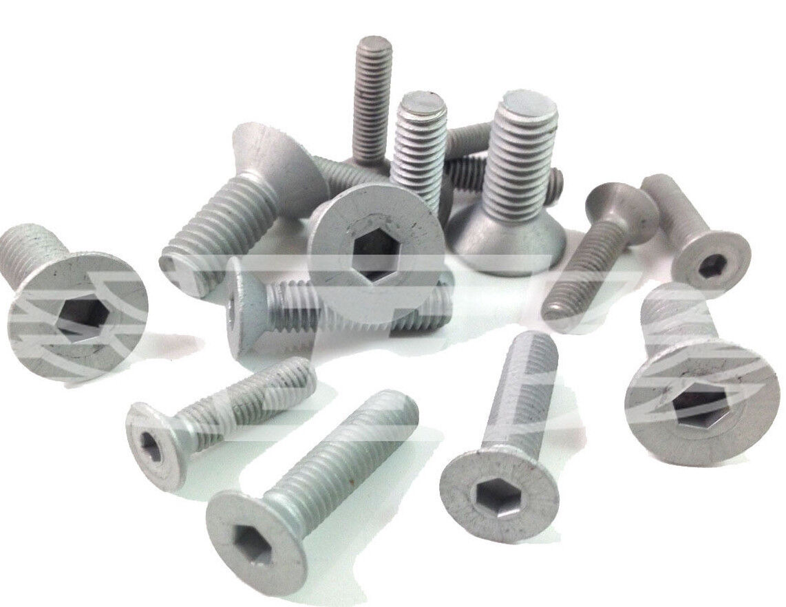 50 M8 x 120mm ROOFING BOLTS /& SQUARE NUTS DOUBLE SLOTTED CORRUGATED ROOF *