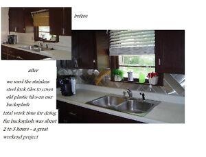 24-lot-Decorative-Self-Adhesive-Mosaic-Kitchen-Wall-Metal-Tiles-Bathroom-3-sq-ft