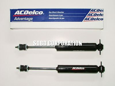 1966-1996 Chevrolet Caprice Front ACDelco Gas Shock Absorbers Ext 14.61 Comp 9.2