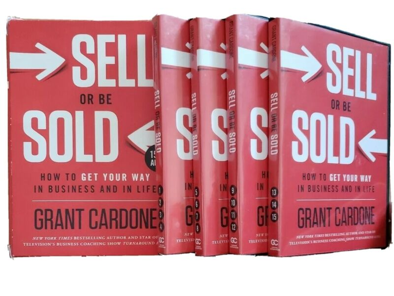 Grant Cardone Sell or be Sold 15 CD Audiobook Set