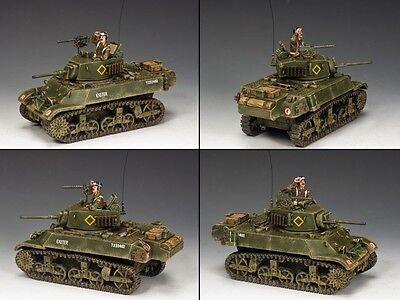 King   Country D Day Dd223 British M3a3 Stuart Light Tank Set Mib