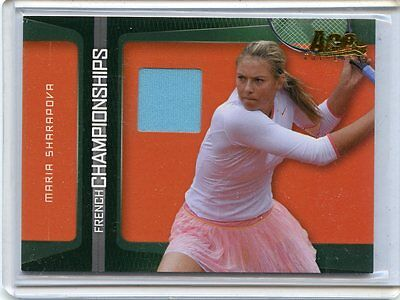 2007 Ace Authentic Maria Sharapova French Open Match Worn Jersey Fc 2