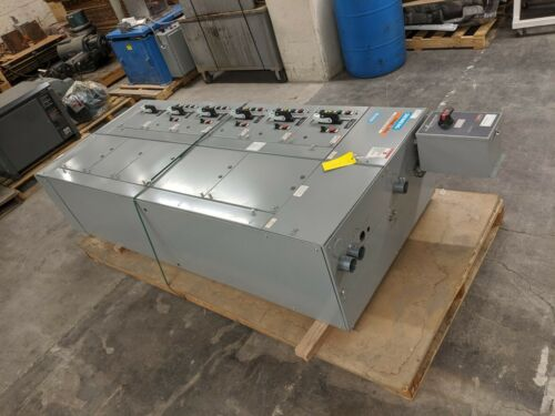 Siemens Power Distribution Panel Tiastar Motor Control 480V 3Ph 30,30,3,3,40,15A