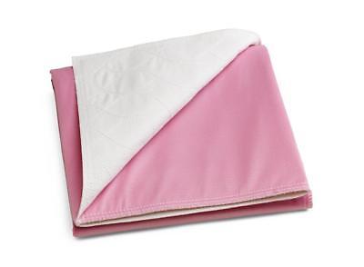 Medline Sofnit 300  Pack Of 4 Large Washable Pink Underpads  34 X36