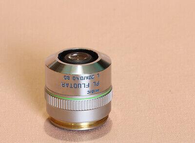 Leica  Pl Fluotar 20 L Bd Microscope Objective