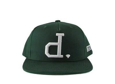 "Diamond Supply Co ""D"" Green Snapback Hat"
