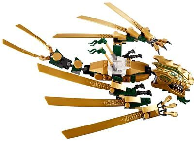 LEGO Ninjago The Golden Dragon ONLY 70503 As Shown RARE!!