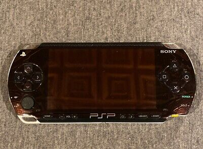 Sony PlayStation Portable PSP-1001 HandHeld Game System -Black-