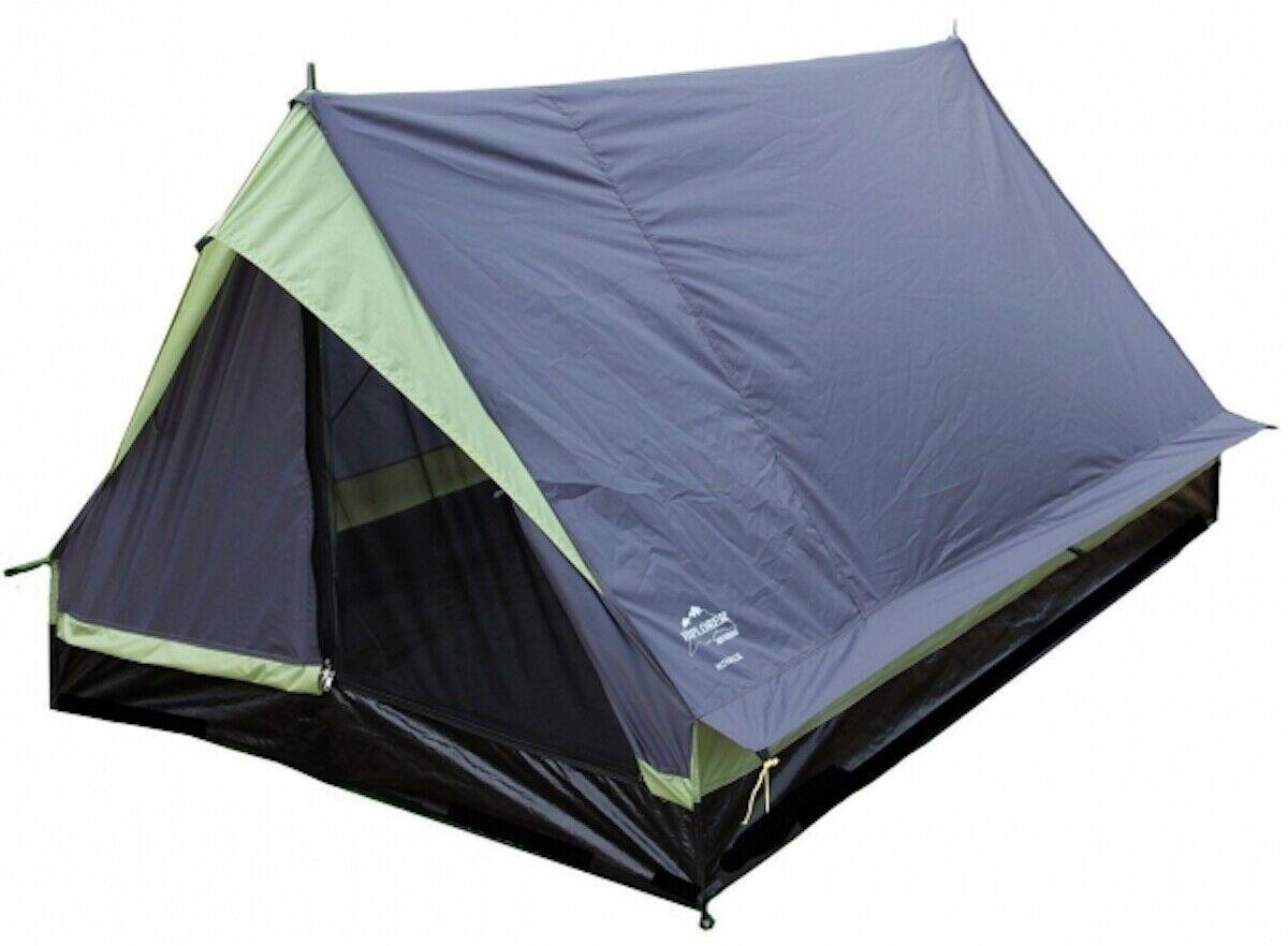 2 Personen Zelt Explorer Leichtgewichts-Zelt Minipack Campingzelt 1,7 kg