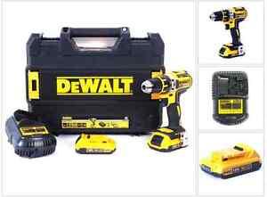 DEWALT DCD 790 D2 18 V Brushless Akku Schrauber + 2x2,0 Ah Akku + Lader + Koffer