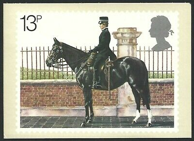 Great Britain 1979 Police Stamp Card