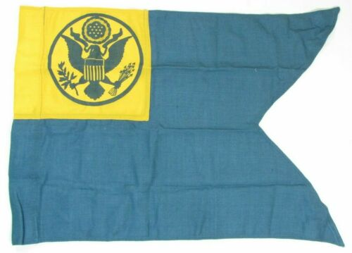 Official US Army Basic Combat Training Nylon/Wool Authentic Guidon Flag 1I3