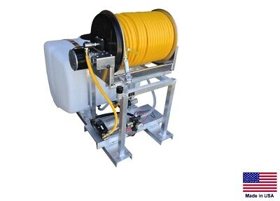 Sprayer Commercial - Skid Mounted - 12 Vdc - 3 Gpm - 150 Psi - 100 Gallon Tank