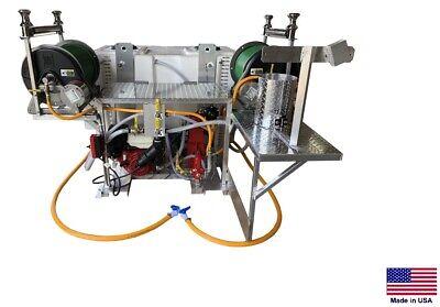 Sprayer Commercial - Skid Mounted - 10 Gpm - 500 Psi - 300100 Gallon Split Tank