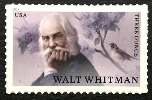 2019 Scott #5414 - 3oz(85¢) - WALT WHITMAN - AUTHOR - Single Mint NH