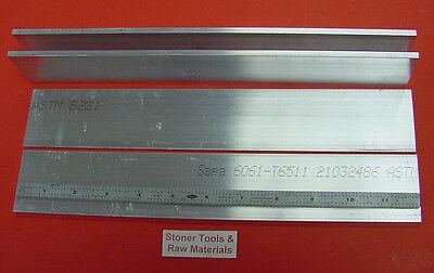 4 Pieces 316 X 2 Aluminum 6061 T6511 Flat Bar 12 Long .187x 2 Mill Stock
