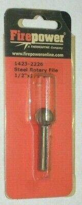 Victor Firepower 1423-2226 Ball Nose Rotary File 12 X 12 X 14 Shank For Drill