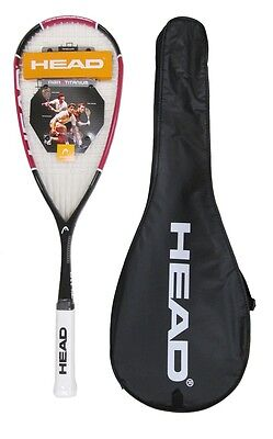 Head Nano Ti.110 Titanium Squash Racket RRP £200-NOW £39.89 LOWEST PRICE ON EBAY