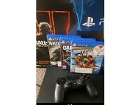 PS4/500GB +3 Games