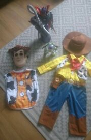 Toy story costumes and toys