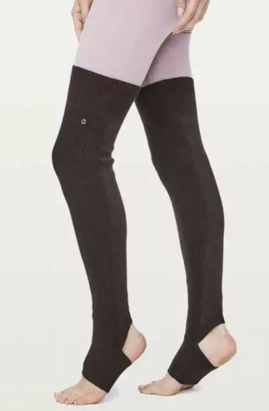 NWT $68 Lululemon Studio Legwarmer Plum Shadow (One Size)
