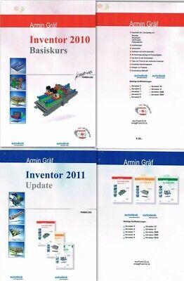 Autodesk Inventor 2010 Basiskurs , Inventor 2011 Update ohne CD