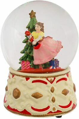 Musical Clara With Nutcracker Water Globe