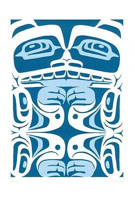 Bear Eric Parnell Art Card Haida Northwest Coast Native for sale  Canada