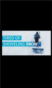 """SNOW REMOVEL **LIMITED SPACE AVAILABLE"""""""