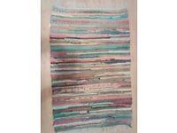 Small woven rug