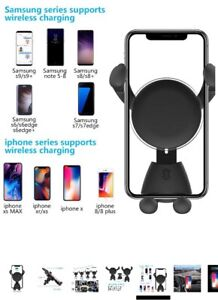 Wireless Car Cell Phone Charges Vent Clip $25